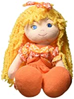 GirlznDollz Cameron Cute Baby Doll, Yellow/Orange by GirlznDollz
