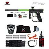 Proto Rize MaXXed Corporal HPA Paintball Gun Package - Black/Lime