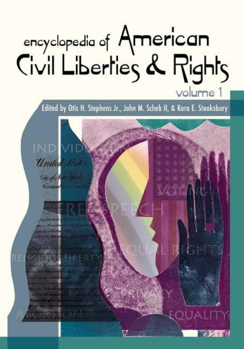 Download Encyclopedia of American Civil Rights and Liberties: Volume 1, A-G pdf epub