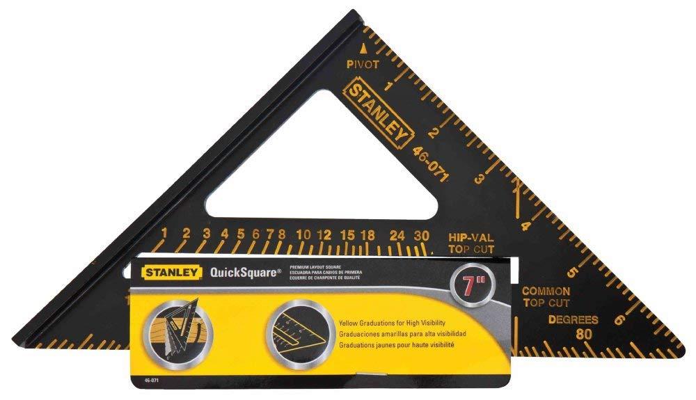 Stanley Hand Tools 46-071 Premium Quick Square Layout Tool
