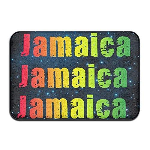 monogram doormat Soft Non-slip Jamaica Bath Mat Coral Fleece Area Rug Door Mat Entrance Rug Floor Mats (Monograms Mini Hip)