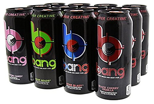 VPX Bang Variety Pack 3 RTD 12 per Case - 16 fl oz (1 PT) 473 ml