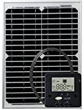 GO POWER GP-ECO-20 20W/1.2A Solar Kit W/Cont For Sale