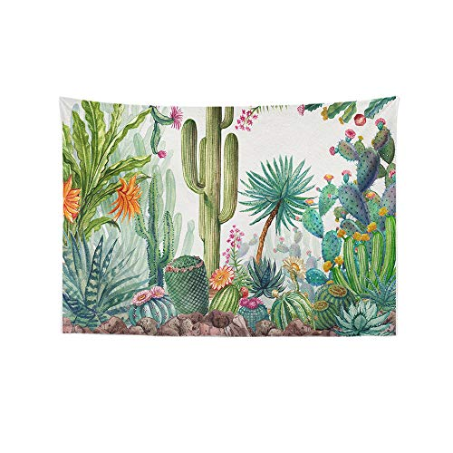 - Alimao Beautiful Flowers Cactus Tapestry Wall Furniture Bedspreads Shower Curtains Clearance sale