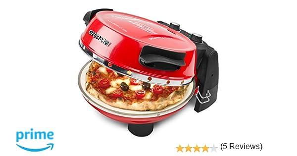 Ferrari G10032 fabricante de pizza y hornos 1 Pizza(s) Rojo ...