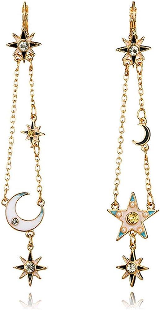 Exaggerated Sun Moon Stars...