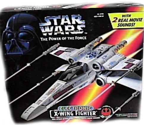 Star Wars Electronic X Wing Fighter