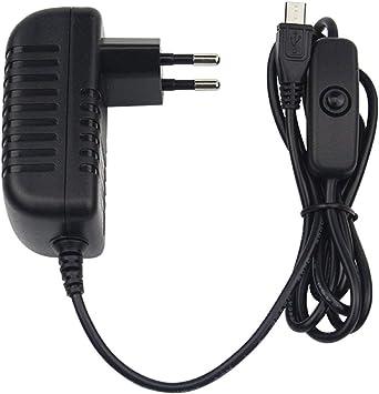 Chargeur Alimentation UE Micro USB Pour Raspberry Pi 5V