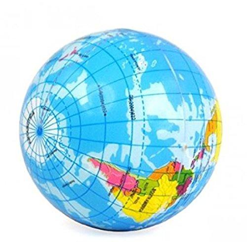 Omeny PU Mini Globe soulager le stress Balle rebondissante jouet