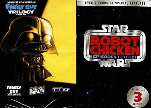 Family Guy & Robot Chicken Star Wars Trilogy 6-DVD Set