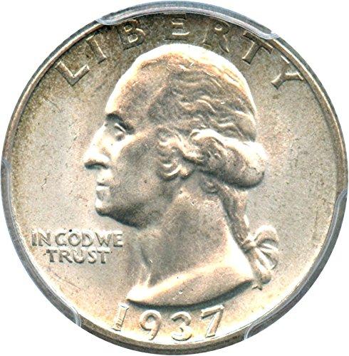 1937 P Washington Quarters (1932-98) Quarter MS66 PCGS