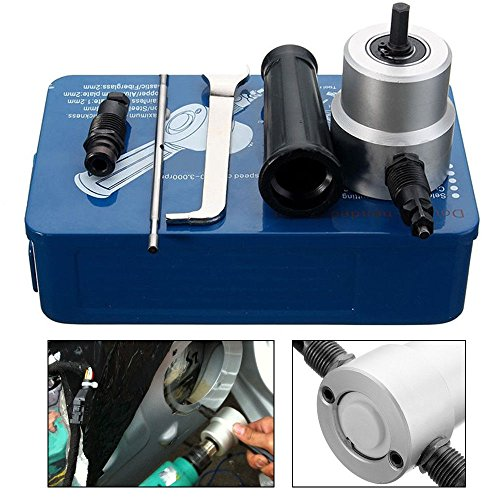 Double Head Sheet Metal Nibbler Cutter Holder Tools Power Drill Attachment Kits by TFCFL