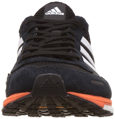 adidas Adizero Adios M, Zapatos para Correr para Hombre Multicolor (Cblack/ftwwht/eneora)