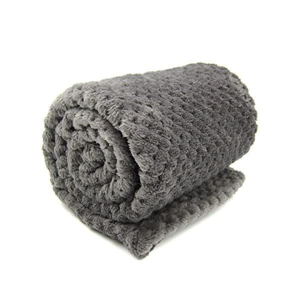 Alfie Pet – Mackenzie Fleece Blanket for Dogs and Cats – Color: Grey Click on image for further info. 5
