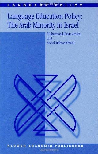 Language Education Policy: The Arab Minority in Israel (Language Policy) Pdf