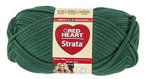 RED HEART E850.2620 Strata Yarn, Teal