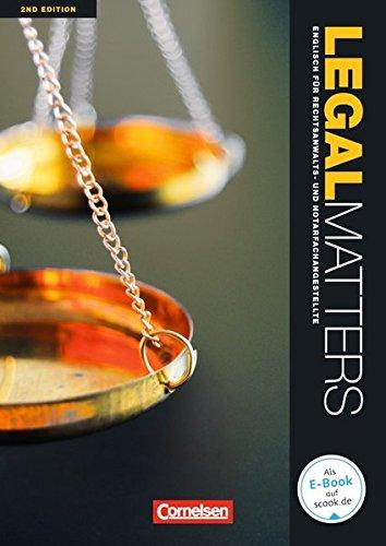 Legal Matters - Second Edition: B1/B2 - Schülerbuch