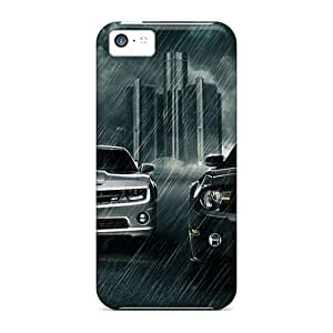 Jeffrehing Snap On Hard Case Cover Muscle Cars Protector For Iphone 5c
