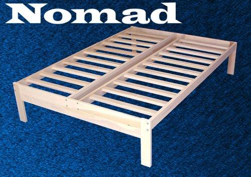 Amazon Com Full Size Nomad Platform Bed Frame Solid