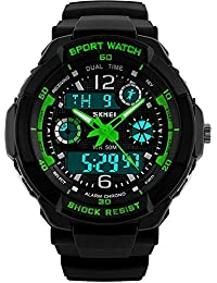 Boys Watch, Kids Teens Boys Waterproof Sports Digital...