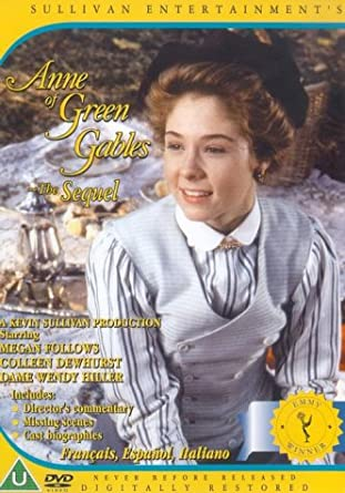 Anne of Green Gables The Sequel - DVD Image