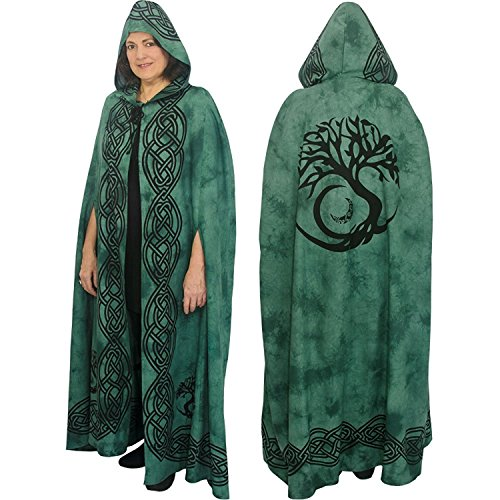 Ritual Cotton Cloak (Tree of Life Green)