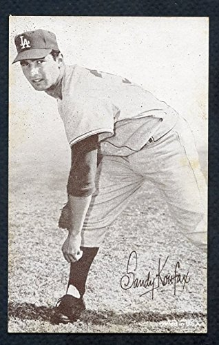 1962 Stat Back Exhibits Sandy Koufax Dodgers VG-EX 353339 Kit Young Cards
