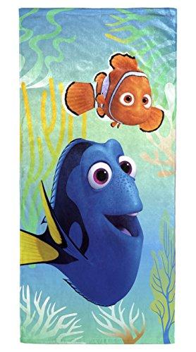 "Disney Pixar Finding Dory 'Wavy Days' Cotton Beach/Bath/Pool Towel, 28"" x 58"" by Disney Pixar"