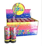 Spring Loaded Confetti Party Poppers- 24 pc