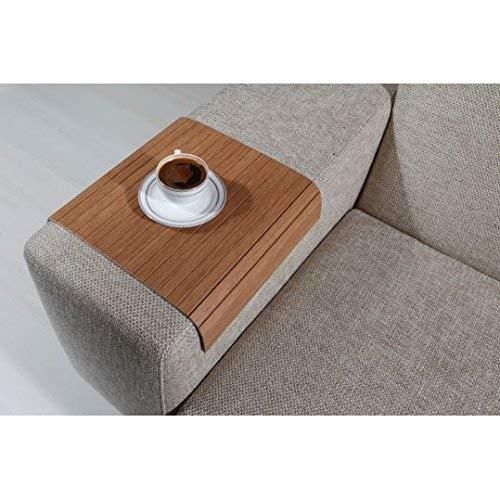 Fine Amazon Com Sofa Table Sofa Tray Table Full Slatted Bahama Evergreenethics Interior Chair Design Evergreenethicsorg