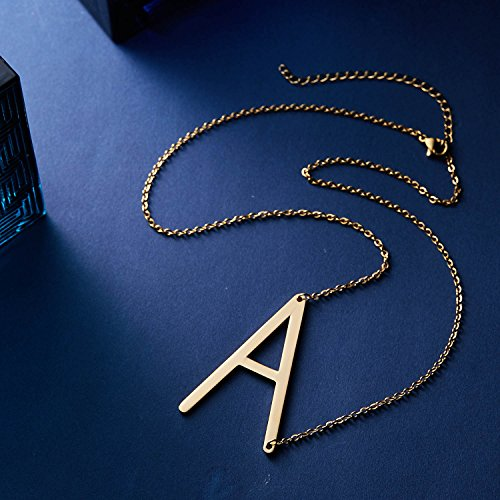Rinhoo-Sideways-Large-Initial-Necklace-Gold-Big-Letter-Script-Name-Stainless-Steel-Pendant-Monogram-Necklace-for-Women-Giftfrom-Alphabet-26-A-Z
