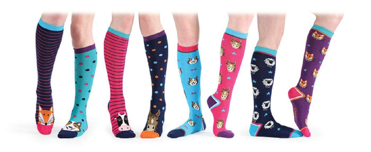 Everyday Socks Navy Horsehead Childs Shires