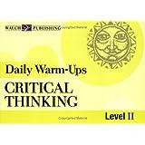 Daily Warm-Ups: Critical Thinking, Level II (Daily Warm-Ups English/Language Arts)