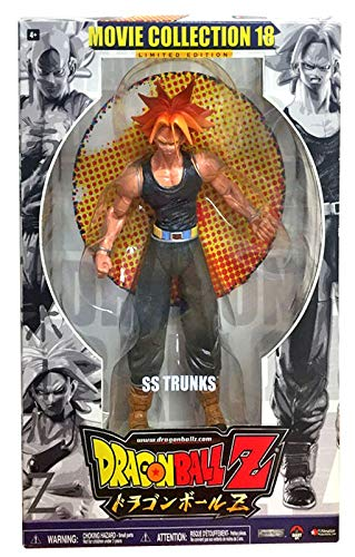 Dragonball Z Series 18 Movie Collection 9 Inch Deluxe Action Figure SS Trunks