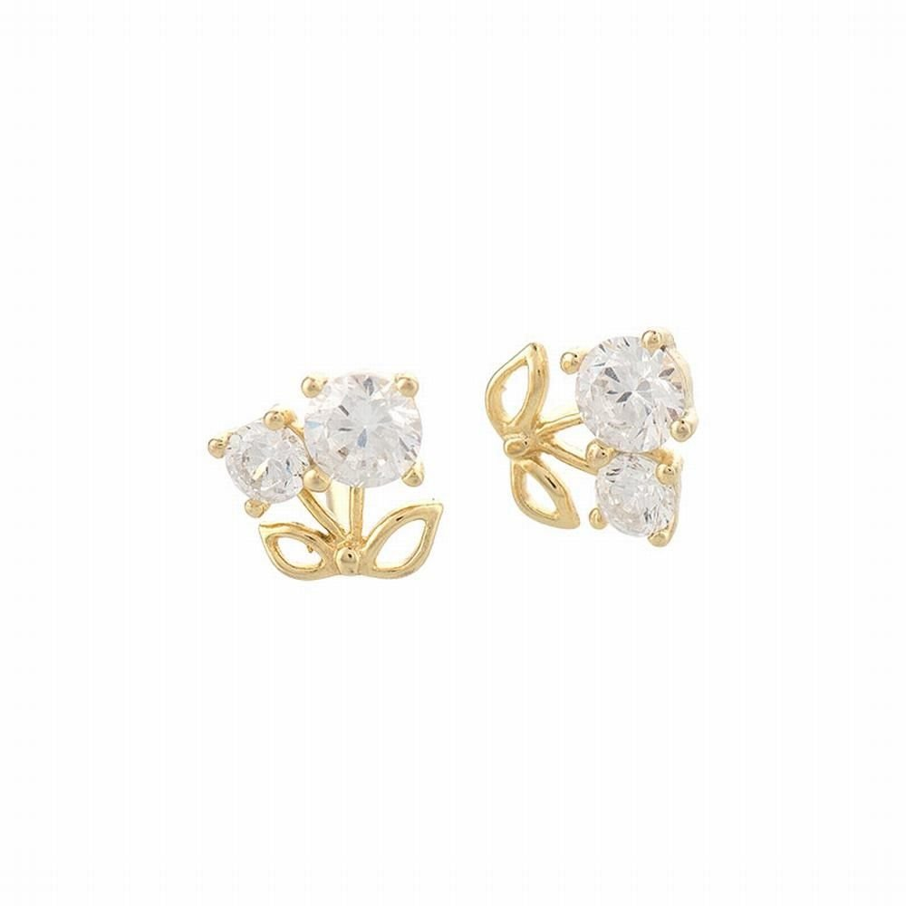 Ling Studs Earrings Hypoallergenic Cartilage Ear Piercing Simple Fashion Earrings Ear Jewelry 925 Silver Earrings Simple Pendant Student Short Accessories White