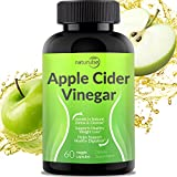 Apple Cider Vinegar Capsules 1300mg – Tasteless Natural Weight Loss Pills – Cleanse, Detox, Digestion Support Tablets – 100% Pure Vegetable ACV Capsules – Non-GMO & Gluten Free – Made in USA For Sale
