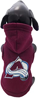product image for All Star Dogs NHL Unisex NHL Colorado Avalanche Polar Fleece Hooded Dog Sweatshirt