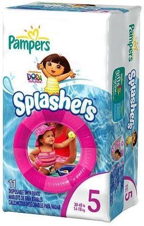 Pampers SPLASHERS Swim Pants 30-40lb, 14-18kg Dora the Explorer /… Size 5