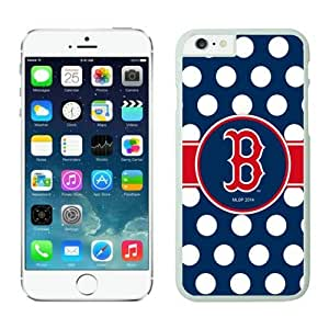 iPhone 6 Cover Case,Boston Red Sox TPU Rubber Phone Case For Apple iPhone 6 4.7 Inch Case 2 White