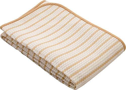 EMOOR Breathable Mesh Bed Pad AIR-PAD, Polyester & Nyron, Full Size, Made in Japan, BODY SUPPORTER, Beige