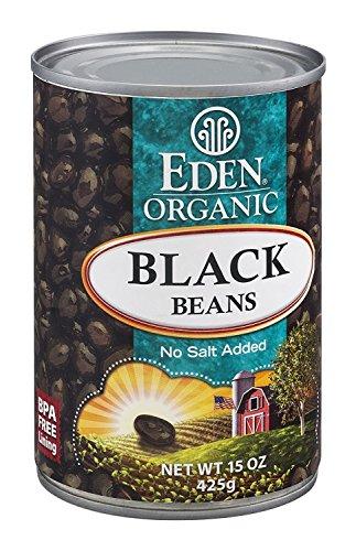 Eden Foods Organic Black Beans 15 oz ()