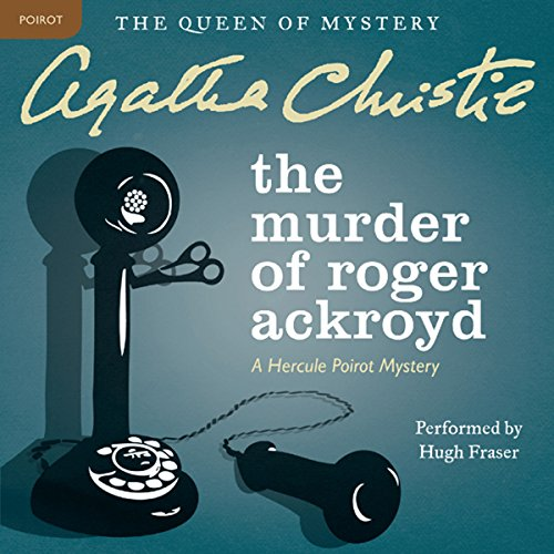 Bargain Audio Book - The Murder of Roger Ackroyd  A Hercule Po