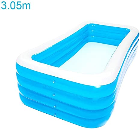 Voyoo Swimming Pools For Kids Family Inflatable Pool Inflatable Swimming Pool Thickened Family Inflatable Pool For Children Adults Outdoors Have Fun Amazon Ca Home Kitchen