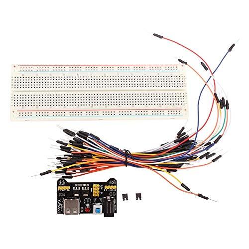 Netzteil /Überbr/ückungskabels/ätze Dupont Wire F/ür Arduino BliliDIY Mb-102 Mb102 L/ötfreies Steckbrett