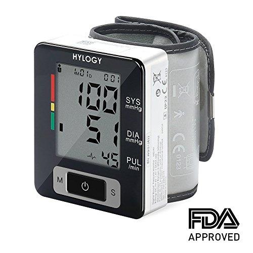 Wrist Blood Pressure Monitor, Hylogy BP Monitor...