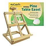 Mont Marte Table Easel Tabletop Easel Small Adjustable Pine