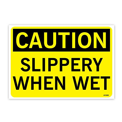 Top 10 slippery when wet sticker