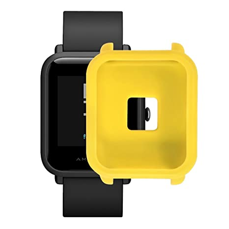 XingWangFa for Amazfit Bip Youth Protector Correa, Soft Silicone Protective Correa Frame Shell for Xiaomi Xiao Mi Huami Amazfit Bip Youth Smart Watch ...