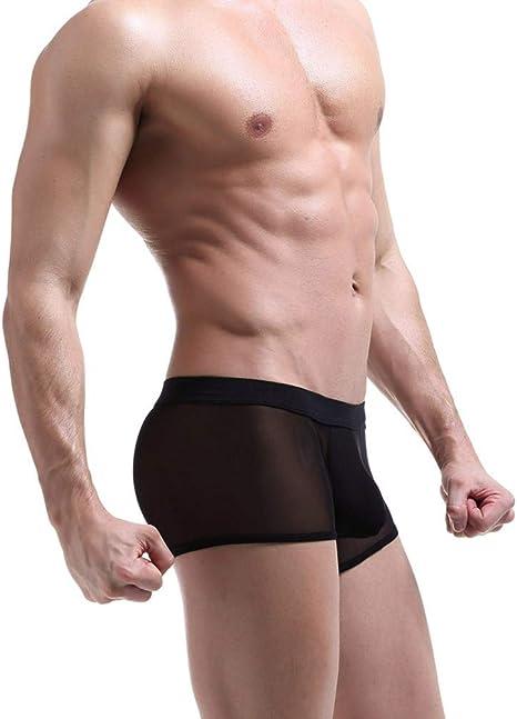 DC CLOUD Slip Trasparenti Mutande Boxer Briefs Mutandine da Uomo UltraSottili Slip Senza Cuciture Men Knickers Sportive Uomo