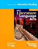 Holt Literature and Language Arts, Holt, Rinehart and Winston Staff, 0030650933